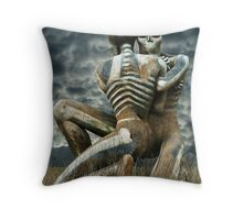 Look Into My Eyes !! Throw Pillow