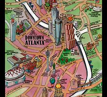 Downtown Atlanta CARD by Kevin Middleton