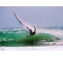 WIPE OUT! Photographic Print