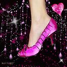 I Love My Pink Shoes!! (Views: 4802 :o) by Rhonda Strickland