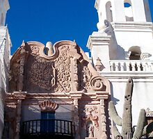 San Xavier Del Bac Mission in Tucson, Arizona by Ocean1111