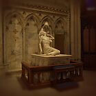 The Pieta at St. Patricks Cathedral N.Y.C. by Dennymon