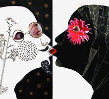 yin and yan by Anna Silivonchik