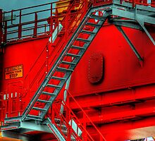 Caution, Watch Your Step 2 - Port Botany, Sydney, Australia by Mark Richards