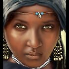 Portrait of a girl by sushobhan