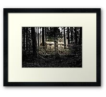 Gem in the Woods Framed Print