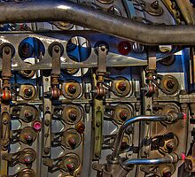 Jet Engine Detail by njordphoto
