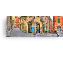 Genoa Alley Canvas Print