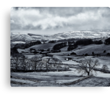Guess the high pass is out then? Canvas Print
