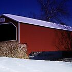 Kreidersville Covered Bridge by djphoto