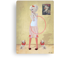 I Want To Join The Circus!! Canvas Print