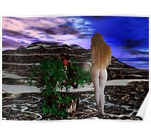 Goddess and Rose 3 Poster