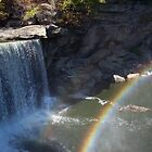 Rainbow at the Falls by Rocky Henriques