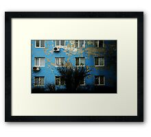 a geography class Framed Print