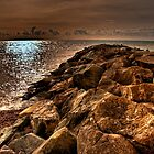 Rocky Coast by Eddie Howland