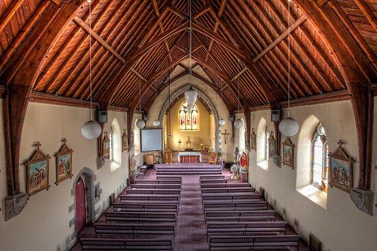 All Saints Church • Portland • Victoria  by William Bullimore