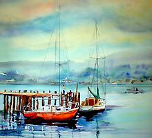 Tassie Boats. www.shirleycharlton.com by Shirlroma