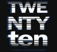 Senior T-shirt Twenty Ten by JayRoc22