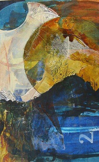Unintended lunar landscape semi-abstract by Alyshia Hansen