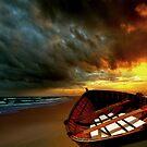 Soft Sunrise on the Beach 8 by Carlos Casamayor