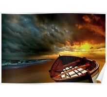 Soft Sunrise on the Beach 8 Poster