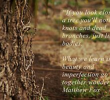 Tree of Beauty and Imperfection by David Hill