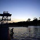 Early Swim by AlMiller