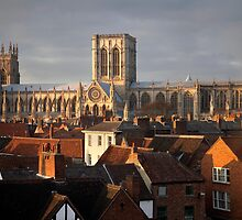 The Cathedral Church of St Peter in York by SteveMG