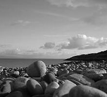 Pebbles - Beack in North Wales by Joanne Read