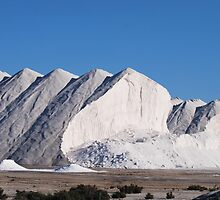 Salt Mountains by Richard Nelson