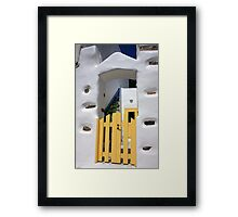 Bright Sunshiny Welcome Framed Print