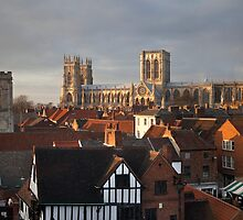 The Cathedral City Of York by SteveMG