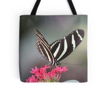Black & white Zebra longwing (Heliconius Charitonius)  Tote Bag