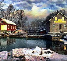morningstar mill, new year's day by Brock Hunter