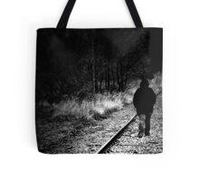 Dark Walk Tote Bag