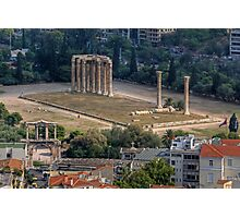 Temple of Olympian Zeus Photographic Print