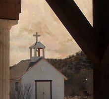 Little White Church in the Valley by Linda Gregory