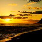 hawaiian sunset by HeatherMScholl