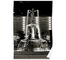 Fountain Square, Cincinnati Poster