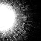 "Another work entitled, ""Light At The End Of The Tunnel.""."" by Kirby Vaillant-White"