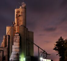Ada, Oh, Grain Elevators by HeatherMScholl