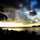 Sunset Storm Clouds by Tisa