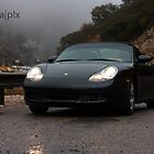 Driving in the rain on Mt Lemmon by pandapix