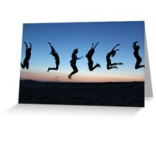 Oh What a Feeling! Greeting Card
