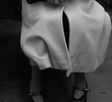 Lady on Paris Metro by Charlie  Jeffs