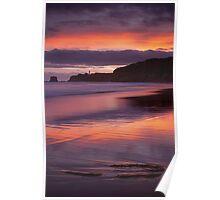 Split Point Sunset Poster