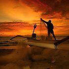 After Sunset by Antoine Dagobert