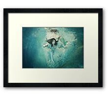 OCEANIC FAIRYTALES - The maiden's stride Framed Print