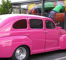 """H"" for Hot Pink Hotrod by Marilyn Harris"