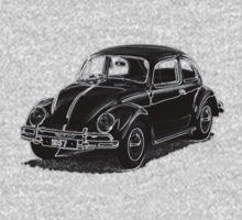 1957 VW Beetle by Quentin Jones